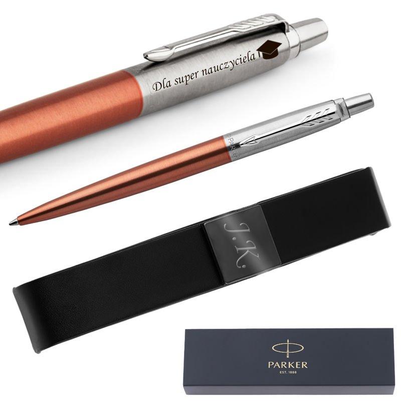 Długopis Parker Jotter CT Chelsea Orange z Etui Grawer
