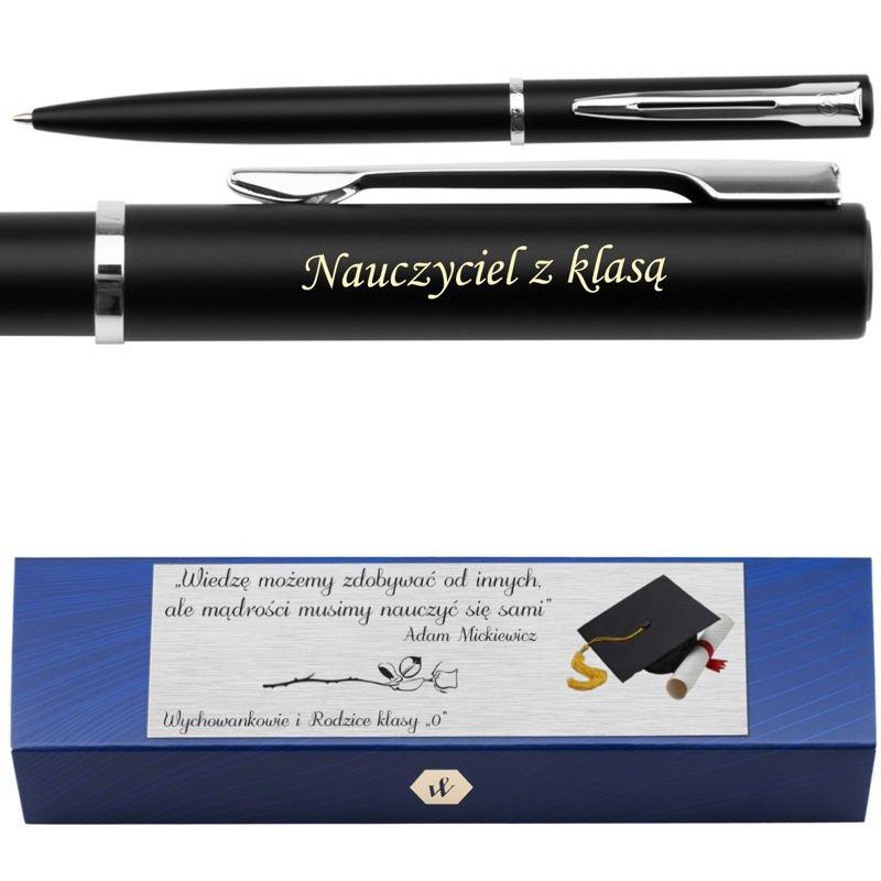Waterman Allure Długopis Czarny CT Grawer