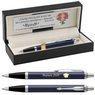 Długopis Parker IM Niebieski Mat CT Czarne etui z Grawerem 1