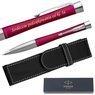 Długopis Parker Urban Twist Różowy Grawer + Etui 1