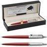 Ołówek Parker Jotter CT Czerwony Kensington Pudełko z Grawerem 1