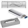 Pendrive srebrno-srebrny 16 GB Pamięć USB prezent z Grawerem 7