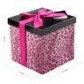 Pudełko na prezent różowa panterka M+ 2