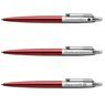 Zestaw Długopis Ołówek Jotter Parker Czerwony CT Prezent Grawer 5