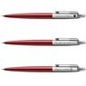 Zestaw Długopis Ółówek Pióro wieczne Jotter Parker Czerwony CT Prezent Grawer 6