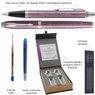 Zestaw Długopis Pióro Parker IM Jasnofioletowy CT z Grawerem 3
