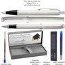 Zestaw Parker IM Pióro Długopis Białe CT z Grawerem 3