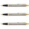 Zestaw Parker IM Pióro + Długopis Brushed GT z Grawerem 7