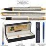 Zestaw Parker IM Pióro + Długopis Brushed GT z Grawerem 3