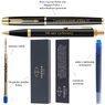 Zestaw Parker IM czarny GT Pióro wieczne Długopis Grawer 6