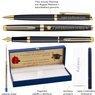Zestaw Pióro Długopis Waterman Hemisphere mat GT z Grawerem 3