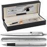 Zestaw Pióro i Długopis Parker Jotter stalowe CT Etui z Grawerem 1