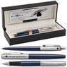 Zestaw Pióro wieczne Długopis Jotter Parker Royal Granatowy CT z Grawerem 1