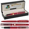Zestaw Waterman Pióro Długopis Allure Czerwony CT Grawer 1