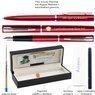 Zestaw Waterman Pióro Długopis Allure Czerwony CT Grawer 7